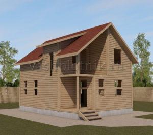 Готовые срубы домов