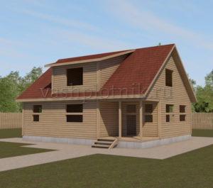 Проекты двухэтажных домов 8 на 10
