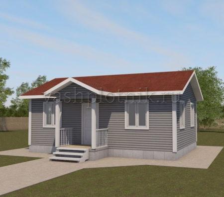 Бесплатный проект дачного дома