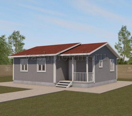 Проекты одноэтажных домов до 100 кв м