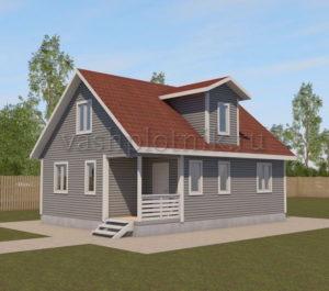 Дом под ключ недорого для постоянного проживания