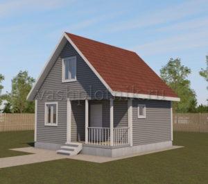 Каркасные дома по канадской технологии