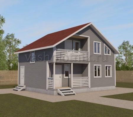 Проекты домов до 100 кв м