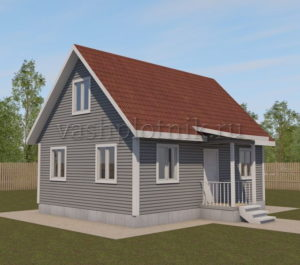 Проект дома 80 кв. м.
