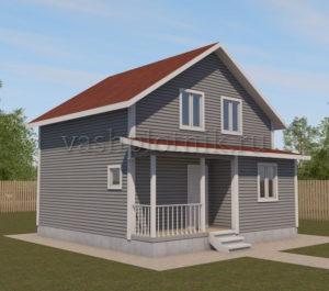 Проект дома 90 кв. м.