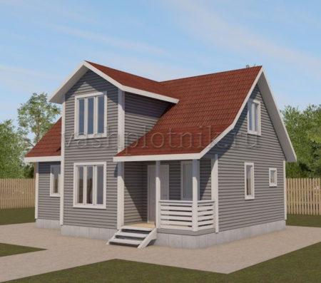 Проект дома 7х9