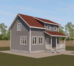 Проекты каркасных домов для круглогодичного проживания